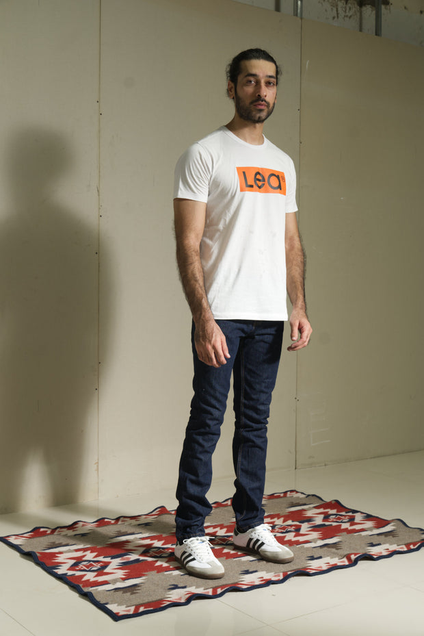 603 - LEA Sustainable Series Dark Indigo Slim Fit Denim (#603.00.01.90..)
