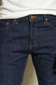 LEA Sustainable Series Dark Indigo Original Slim Fit Denim (#603.00.01.90..)