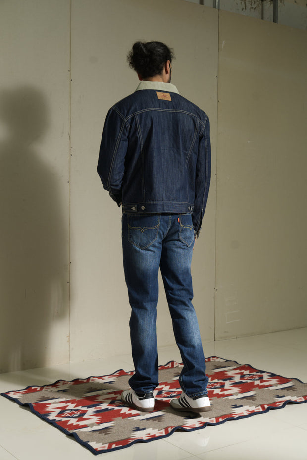 211 - Basic Dark Indigo Jacket Regular Fit Dark Indigo