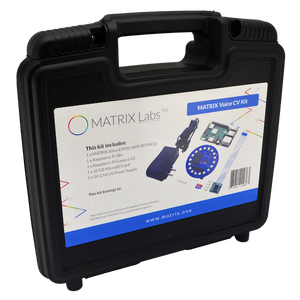 MATRIX Voice CV Kit Case Front