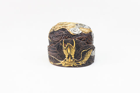 FK135 DRAGON CLOUD FUCHI KASHIRA