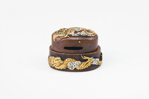FK145 CLOUD DRAGON FUCHI KASHIRA