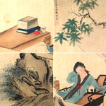 GA004 100% HAND PAINTED FIGURE CHINESE TRADITIONAL INK SCROLL PAINTING