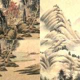 GA010 100% HAND PAINTED LANDSCAP CHINESE TRADITIONAL INK SCROLL PAINTING