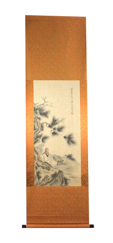 GA011 100% HAND PAINTED FIGURE CHINESE TRADITIONAL INK SCROLL PAINTING