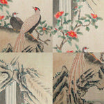 GA017 100% HAND PAINTED FLOWERR BIRD CHINESE TRADITIONAL INK SCROLL PAINTING