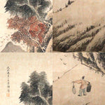 GA022 100% HAND PAINTED CALLIGRAPHY CHINESE TRADITIONAL INK SCROLL PAINTING