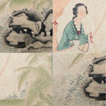 GA024 100% HAND PAINTED FIGURE CHINESE TRADITIONAL INK SCROLL PAINTING