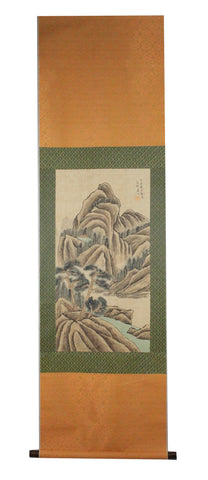 GA031 100% HAND PAINTED LANDSCAPE CHINESE TRADITIONAL INK SCROLL PAINTING