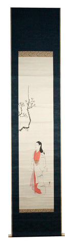 GA042 100% HAND PAINTED FIGURE CHINESE TRADITIONAL INK SCROLL PAINTING
