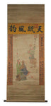 GA044 100% HAND PAINTED FIGURE CHINESE TRADITIONAL INK SCROLL PAINTING