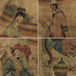 GA046 100% HAND PAINTED FIGURE CHINESE TRADITIONAL INK SCROLL PAINTING
