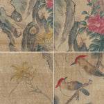 GA047 100% HAND PAINTED FLOWER BIRD CHINESE TRADITIONAL  INK SCROLL PAINTING