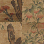 GA057 100% HAND PAINTED FLOWER BIRD CHINESE TRADITIONAL  INK SCROLL PAINTING