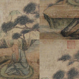 GA059 100% HAND PAINTED FIGURE CHINESE TRADITIONAL INK SCROLL PAINTING