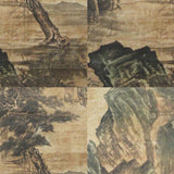 GA076 100% HAND PAINTED LANDSCAP CHINESE TRADITIONAL INK SCROLL PAINTING