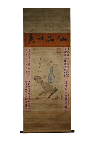 GA078 100% HAND PAINTED BOOK CHINESE TRADITIONAL  INK SCROLL PAINTING