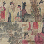 GA083 100% HAND PAINTED FIGURE CHINESE TRADITIONAL INK SCROLL PAINTING