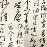 GA092 100% HAND PAINTED CALLIGRAPHY CHINESE TRADITIONAL INK SCROLL PAINTING