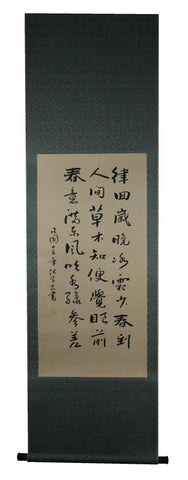 GA093 100% HAND PAINTED CALLIGRAPHY CHINESE TRADITIONAL INK SCROLL PAINTING