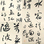 GA098 100% HAND PAINTED CALLIGRAPHY CHINESE TRADITIONAL INK SCROLL PAINTING