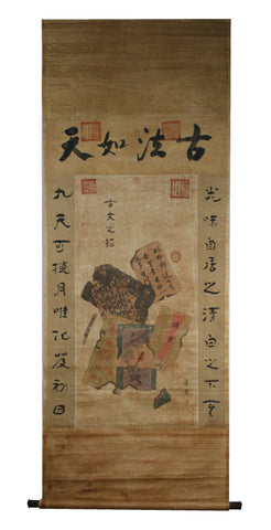 GA114 100% HAND PAINTED BOOK CHINESE TRADITIONAL  INK SCROLL PAINTING