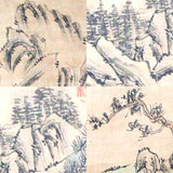 GA116 100% HAND PAINTED LANDSCAP CHINESE TRADITIONAL INK SCROLL PAINTING