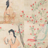 GA145 100% HAND PAINTED FIGURE CHINESE TRADITIONAL INK SCROLL PAINTING