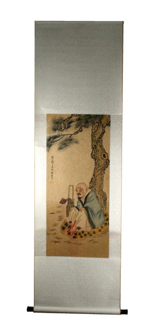 GA149 100% HAND PAINTED FIGURE CHINESE TRADITIONAL INK SCROLL PAINTING