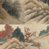 GA153 100% HAND PAINTED LANDSCAP CHINESE TRADITIONAL INK SCROLL PAINTING