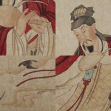 GA154 100% HAND PAINTED FIGURE CHINESE TRADITIONAL INK SCROLL PAINTING