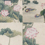 GA163 100% HAND PAINTED FLOWER BIRD CHINESE TRADITIONAL  INK SCROLL PAINTING