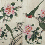 GA164 100% HAND PAINTED FLOWER BIRD CHINESE TRADITIONAL  INK SCROLL PAINTING