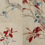 GA167 100% HAND PAINTED FLOWER BIRD CHINESE TRADITIONAL  INK SCROLL PAINTING