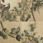 GA174 100% HAND PAINTED FLOWER BIRD CHINESE TRADITIONAL  INK SCROLL PAINTING