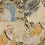 GA176 100% HAND PAINTED FIGURE CHINESE TRADITIONAL INK SCROLL PAINTING