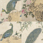 GA179 100% HAND PAINTED FLOWER BIRD CHINESE TRADITIONAL  INK SCROLL PAINTING