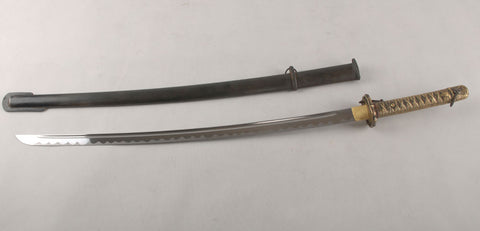 Manganese Steel Japanese 95 Saber battle ready jp Army Sword Katana Full Tang
