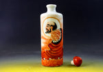 SC081 D16mm HAND MADE CHINESE FENCAI LUOHAN THEME PORCELAIN SNUFF BOTTLE
