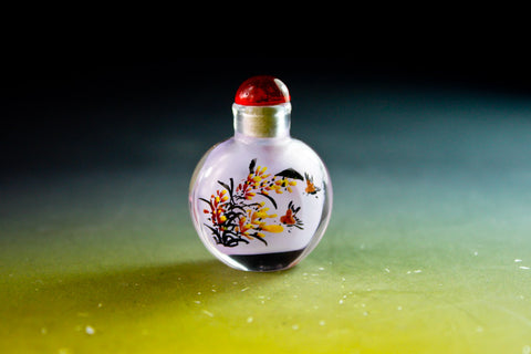 SC193 D11mm SNUFF BOTTLE INSIDE DRAWING GLASS