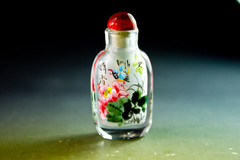 SC194 D11mm SNUFF BOTTLE INSIDE DRAWING GLASS