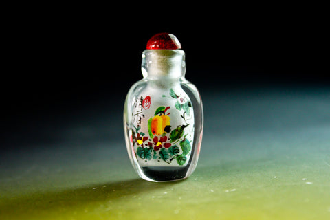 SC196 D11mm SNUFF BOTTLE INSIDE DRAWING GLASS