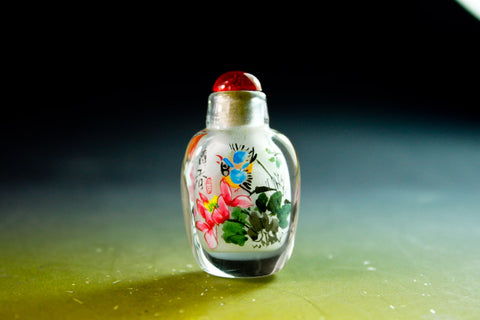 SC200 D11mm SNUFF BOTTLE INSIDE DRAWING GLASS