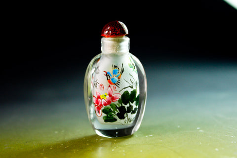 SC202 D13mm SNUFF BOTTLE INSIDE DRAWING GLASS