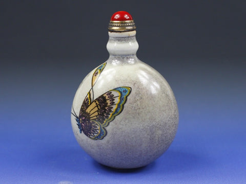 SC215 F12mm FENCAI PORCELAIN SNUFF BOTTLE