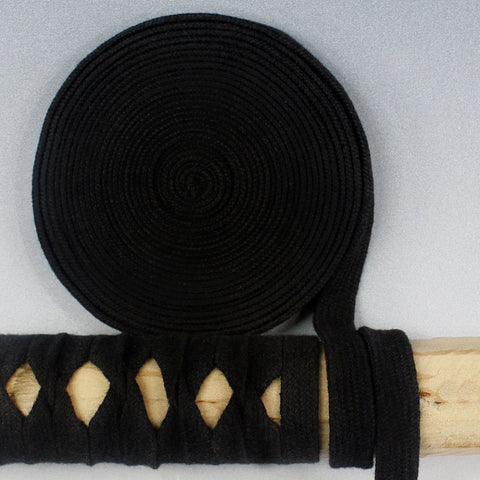 STA001 5M BLACK COTTON TSUKA-ITO