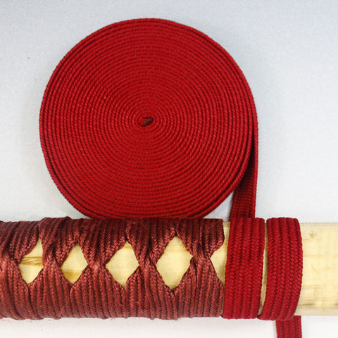 STB008 5M DARK RED RAYON TSUKA ITO