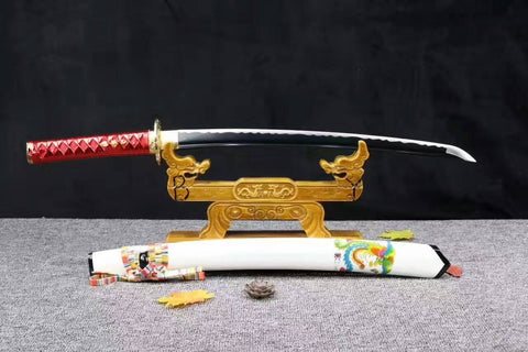 High Carbon Steel Hand Forged Phoenix battle ready sharp Japanese Samurai Sword Katana