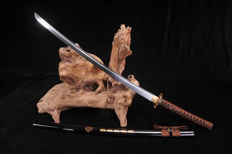Manganese steel alloy fitting battle ready Japanese samurai sword Katana