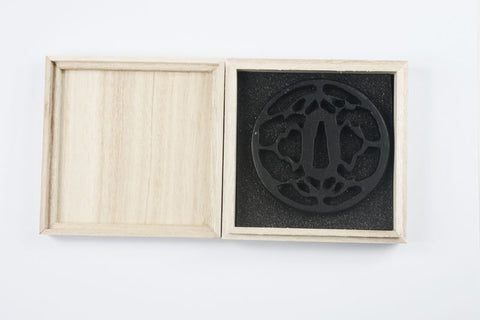 TB036   IRON TSUBA WITH BOX